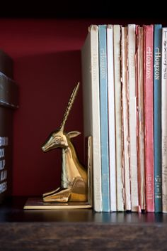 Books at Assouline's offices, photographed by Rima Campbell for Matchbook's December Issue