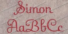 Hey, I found this really awesome Etsy listing at https://www.etsy.com/listing/61802802/simon-embroidery-fonts-3-sizes