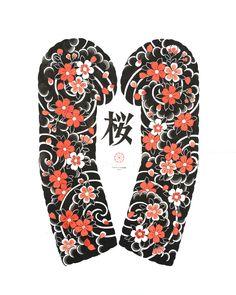 Japanese Flower Tattoo, Japanese Tattoo Designs, Japanese Sleeve Tattoos, Arm Tattoos, Cool Tattoos, Yakuza Tattoo, Tattoo Ink, Tattoo Oriental, Calligraphy Tattoo