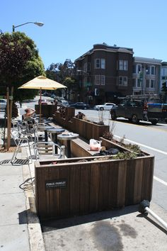 https://flic.kr/p/cGuacE | 1300 Fulton Street Parklet (Hosted by Cafe Abir)…