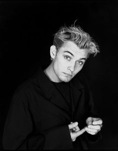 """Jude Law, New York, 1992. Photo by Michael James. The first photo I ever saw of Jude, before I even knew who he was, I knew I wanted him to play my leading man in """"The Offspring"""" someday."""