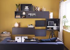 ikea besta regal je nach geschmack mit anderem mobiliar ... - Soggiorno Ikea Besta Tofta