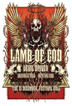 Lamb of God - Devil Driver