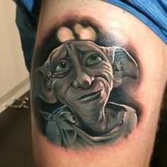 People who love the Magical Harry Potter Tattoo Designs will tell you that they seem to gain a new insight or notice a new detail every time they read it Dobby Harry Potter, Harry Potter Love, Always Harry Potter Tattoo, Harry Potter Tattoos Sleeve, Great Tattoos, Beautiful Tattoos, Body Art Tattoos, New Tattoos, Sleeve Tattoos