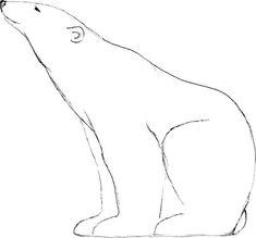 Polar bear drawing 15 bears pinterest animal et dessin - Ours polaire dessin ...