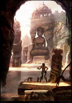CG Art Prince of Persia: Forgotten Sands