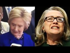 Hillary Clinton Apparent Epileptic Seizure Reaction - Is She Medically Unfit for Office? - YouTube