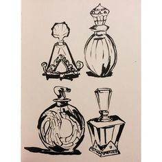 """Nothing brings to life again a forgotten memory like a fragrance. Pen Art, Photo Credit, Pens, Objects, Fragrance, Illustration, Life, Sheet Metal, Illustrations"