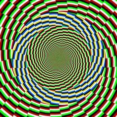 ¿Se mueve? Ilusiones Opticas con Efecto de Movimiento. #IlusionOptica #juegos // illusion