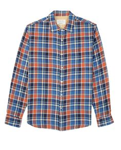 rag & bone Official Store, Beach Shirt, orange fl, Mens : Ready to Wear : Shirts : Beach, M235A12SE