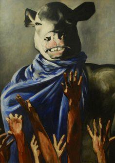"""""""Adoración del becerro"""" Francis Picabia"""