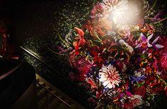 Flower visual work: The garden room of Dries Van Noten 'Inspirations'.