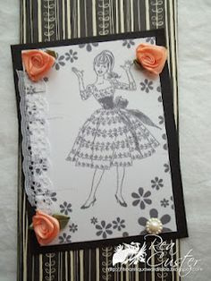 1960's inspired card.