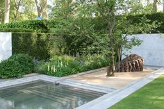 The Laurent-Perrier garden from Chelsea 2014 was awarded a Gold medal and best in show