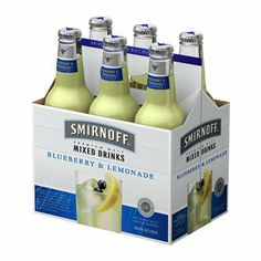 I'm learning all about Smirnoff Ice Blueberry