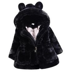 Cold Winter Baby Girls Clothes Faux Fur