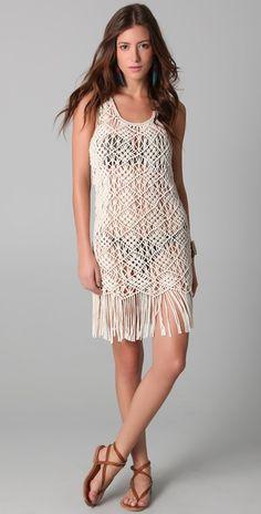 Mara Hoffman Macrame Dress
