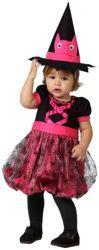 Disfraz de #bruja para bebé, talla 6 - 12 meses, para que tu pequeña sea la bruja más encantadora este Halloween