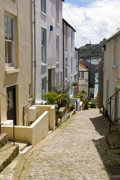 Bethesda Hill, St. Ives, Cornwall, England.