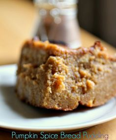 Pumpkin Spice Bread Pudding recipe