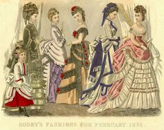 Godey's Fashions for the 1874