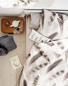 Schöne Bettwäsche (mit Federn) bei Tchibo ab den 17.08.15