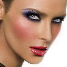 Nápady pro módní make-up rty 1980 Makeup, 80s Makeup Looks, Retro Makeup, Vintage Makeup, Makeup Geek, Look 80s, 1980s Hair, Fresh Makeup, Glamour Makeup