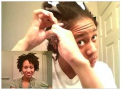 How to do a Two Strand Twist Out on Short to Medium Length Natural Hair