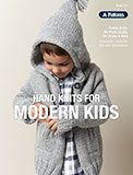 Patons hand knits for kids in 8 ply, 12 ply and chunky