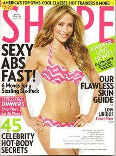 SHAPE MAGAZINE MARCH 2013 JENNIFER LOVE HEWITT, LOW LIBIDO? 3 FAST FIXES