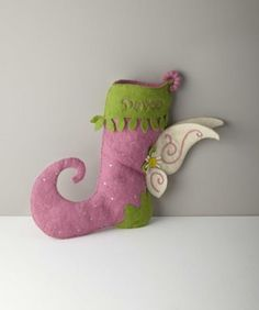 personalized fairy stocking