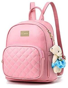 2a4364d8b0 Women Leather Backpack Purse Satchel School Bags Casual Travel Daypacks for  Girls Leather Backpack Purse