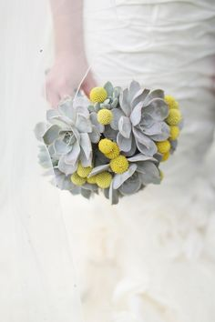 A Super Glamorous Spring Scottish Wedding At Fyvie Castle With An Ian Stewart Ruffled Fishtail Dress and A Yellow Billy Ball Bouquet With Photography By Craig and Eva Sanders.