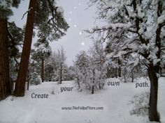 Create your own path. www.TheFolkofYore.com