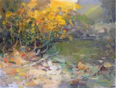 "Makarov Vitaly ""Affectionate Autumn"" - oil, canvas http://www.russianfineart.co/catalog/prod.php?productid=19052"