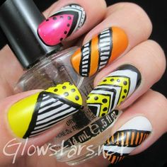 Fly away little bird, find the song in you #Nailart #neonnails #beautyblogger - bellashoot.com