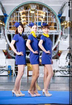 (画像提供:エアバス) ▼16Dec2013ジョルダンニュース!|スカイマーク、新型機エアバスA330型機の客室乗務員の制服を「ミニスカ」に! http://news.jorudan.co.jp/docs/news/detail.cgi?newsid=TY8178323 #japan #Skymark #Skymark_Airlines #Flight_attendants #cabin_crew