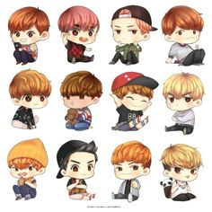 Image shared by María Sol. Find images and videos about kpop, exo and korean on We Heart It - the app to get lost in what you love. Chibi Exo, Fanart Kpop, Exo Anime, Fan Art, Cute Chibi, K Idol, Kpop Fashion, Btob, Chanyeol