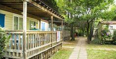 Offerta settembre in campeggio con piscina in Toscana promozione in casa mobile