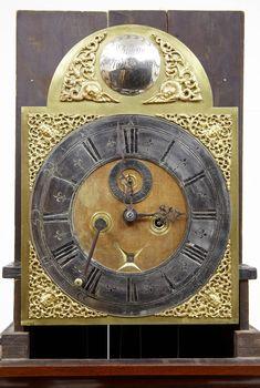 George III 18th Century Inlaid Mahogany Longcase Clock by William Underwood of London For Sale