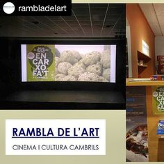 """#Repost @rambladelart with @repostapp ・・・ Heu fet una volta pels restaurants de #cambrils ?  Fins al dia 26 trobareu menus amb la #cartxofa com a protagonista perque aquest més estem ENCARXOFATS, celebrem les 5 #jornadesdelacarxofa amb """"Encarxofa't a Cambrils"""" Membres® #xarxadelport  #cambrils #xarxadelportcambrils #igerscambrils #comerçcambrils #rambladelart #cinema  #cambrilsturisme #cambrilsexperience #jornadasaludable #encarxofat #questiodebongust #encarxofat_cambrils"""