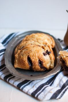 Pear and Chocolate Hazelnut Hand Pies | A Cookie Named Desire