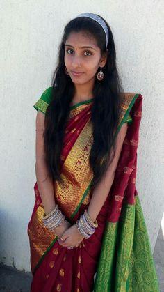 Beautiful Girl Indian, Beautiful Indian Actress, Indian Actresses, Girl Photos, Silk Sarees, Girl Group, Sari, Girls, I Am Awesome