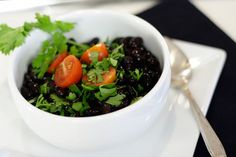 Pressure Cooker Black Beans (Great post on cooking beans in the pressure cooker!)