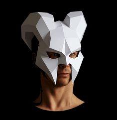 Demonpapercraftmask