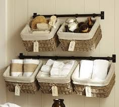 make your own over the door basket storage - Google Search