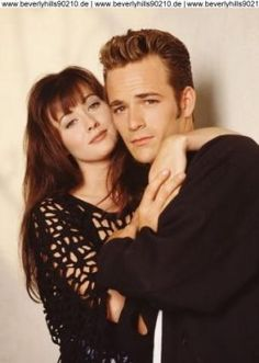 Brenda and Dylan from Beverly Hills 90210