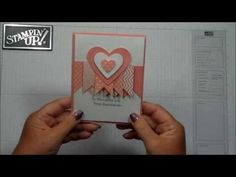 Thoughtful YOU card with Dawn -- uses Hearts A Flutter framelits and Hearts Collection framelits