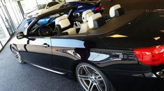 bmw 335i Cabrio ruby black