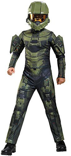 Disguise Master Chief Classic Costume, Large (10-12) -- You can get more details by clicking on the image.